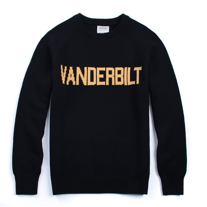 Cotton Vanderbilt School Sweater