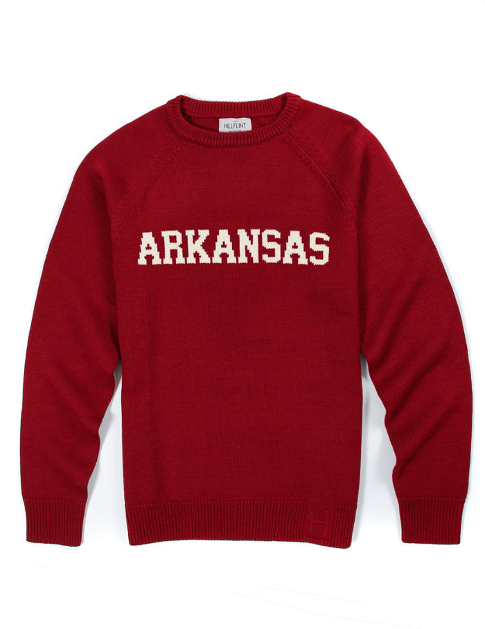 Merino Arkansas School Sweater