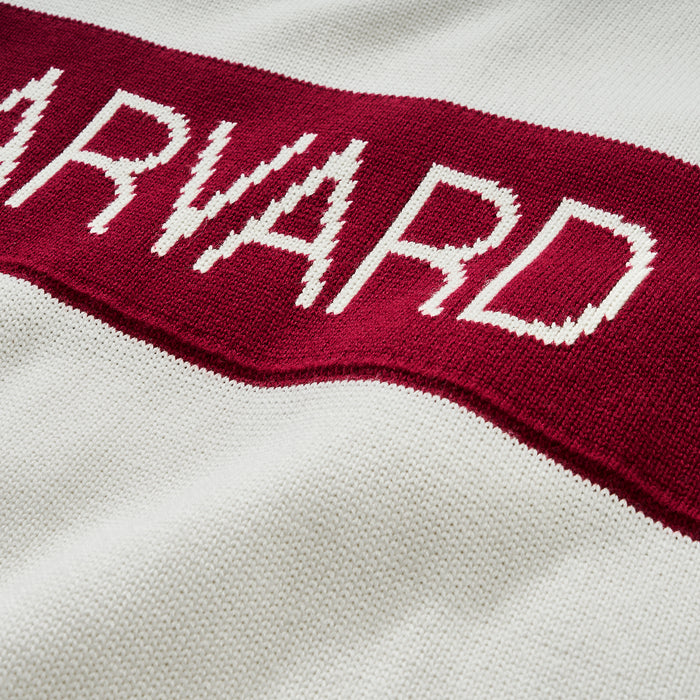 Women's Harvard Retro Stripe Sweater