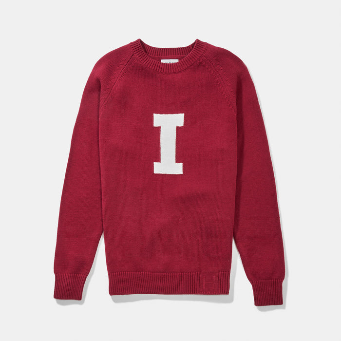 Indiana Vintage Letter Sweater