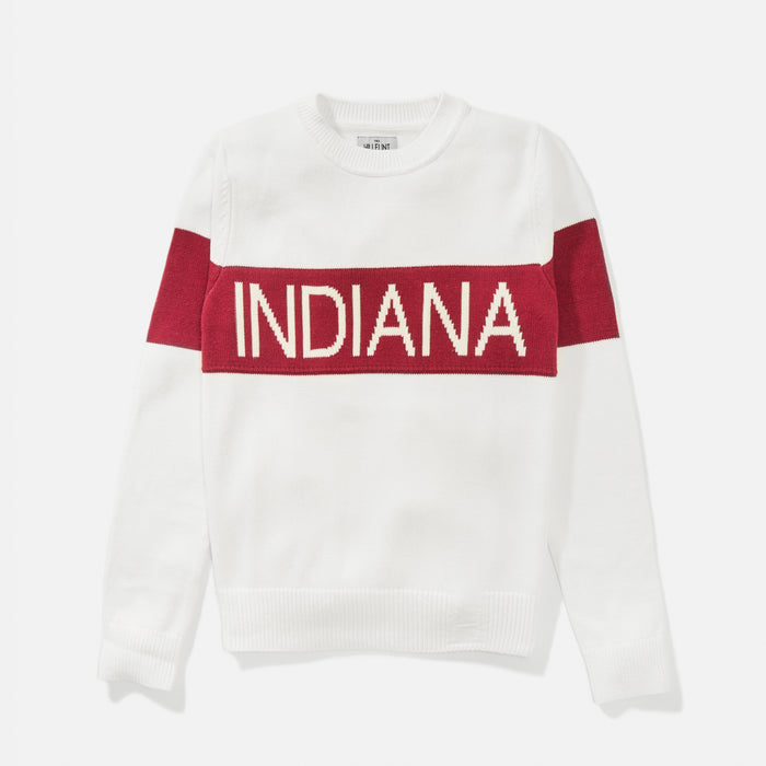 Women's Indiana Retro Stripe Sweater