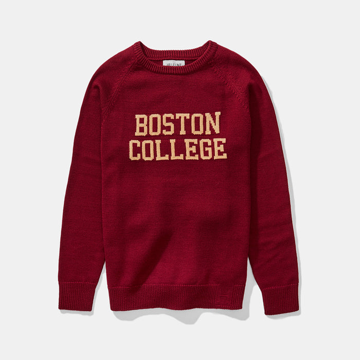 Merino Boston College School Sweater