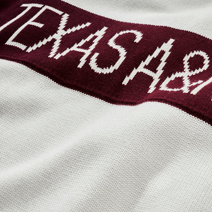 Women's Texas A&M Retro Stripe Sweater