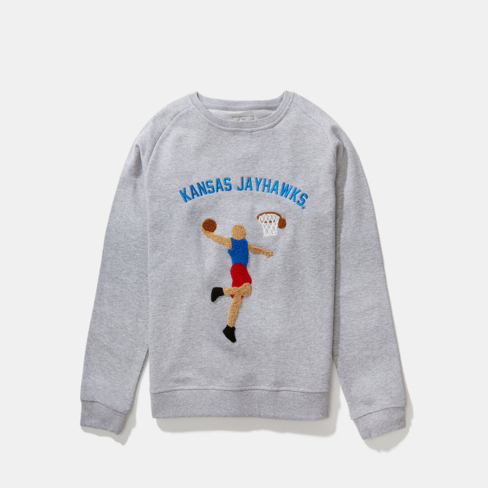 Women's Kansas Illustrated Sweatshirt