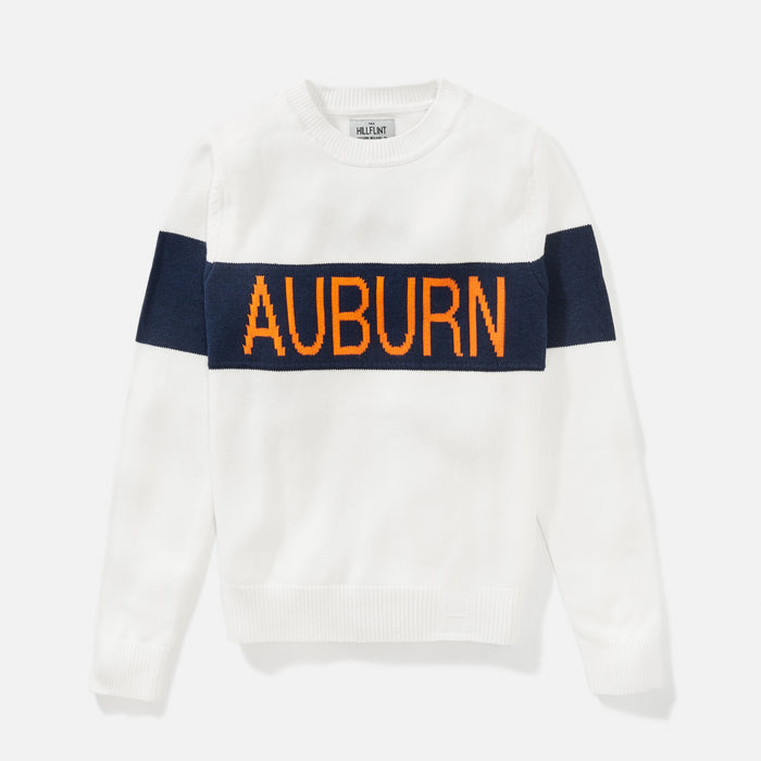 Women's Auburn Retro Stripe Sweater
