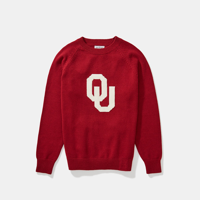 Oklahoma Letter Sweater