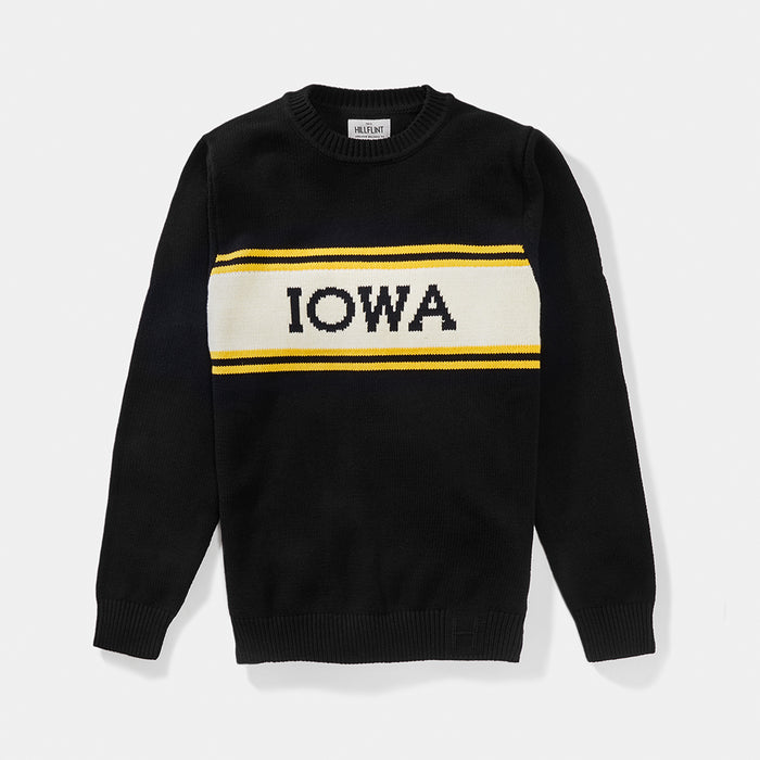 Iowa Varsity Stripe Sweater