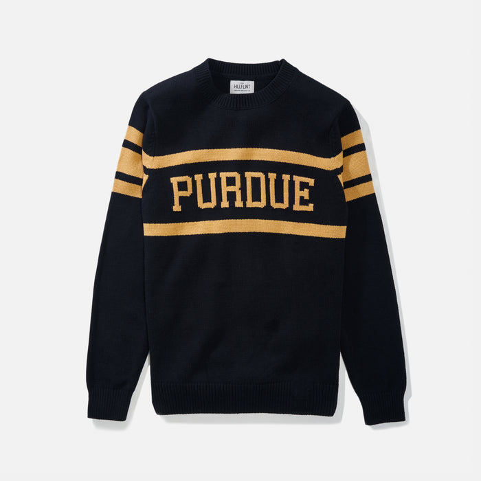 Purdue Retro Stadium Sweater