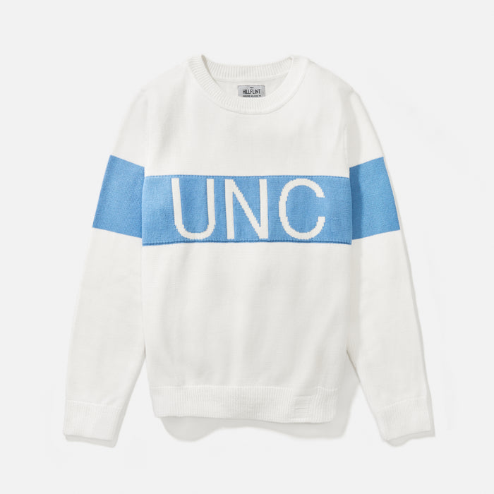 Women's UNC Retro Stripe Sweater