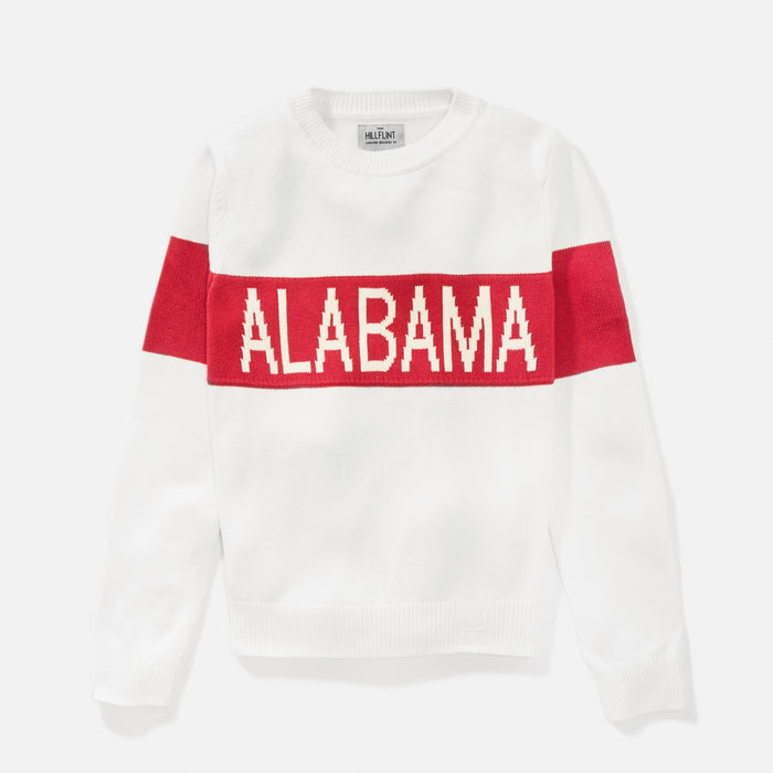 Women's Alabama Retro Stripe Sweater
