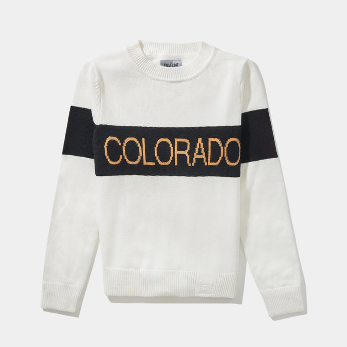 Women's Colorado Retro Stripe Sweater