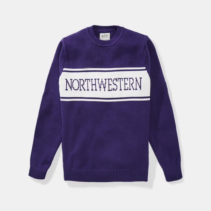 Northwestern Varsity Stripe Sweater