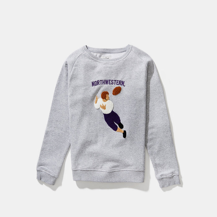 Women's Northwestern Illustrated Sweatshirt