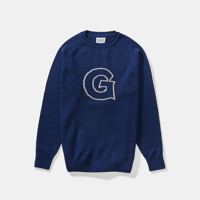 Merino Georgetown Letter Sweater