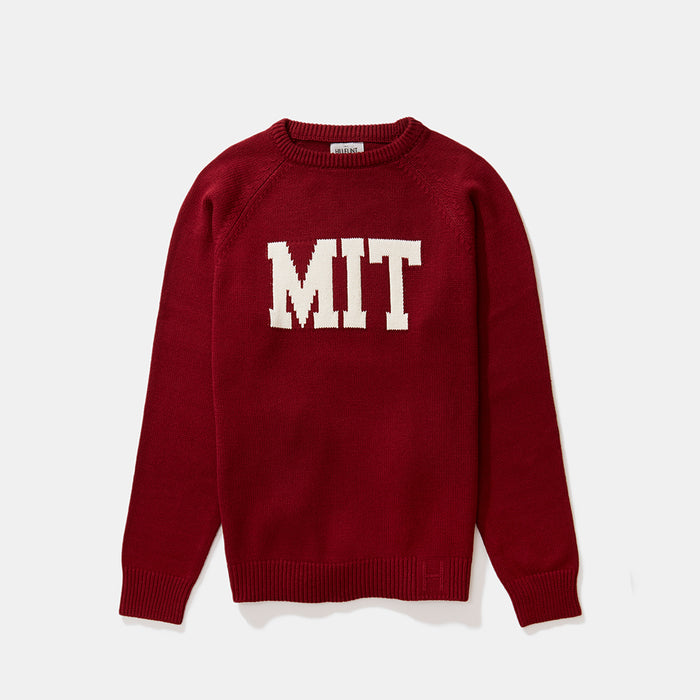 MIT Letter Sweater