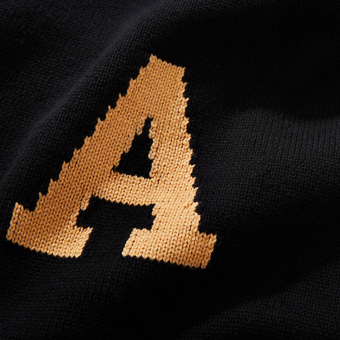 Army Letter Sweater