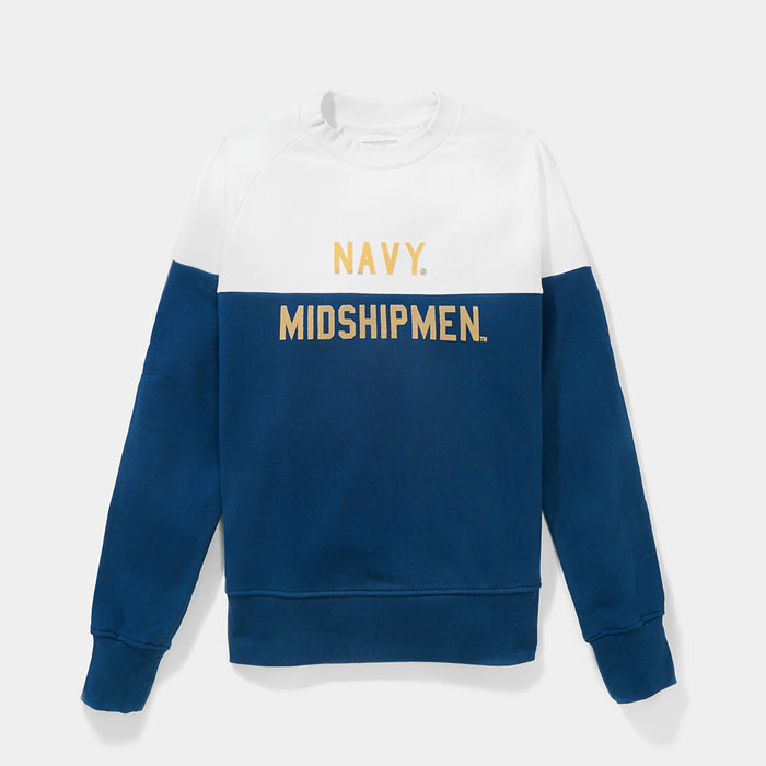 Navy Colorfield Sweatshirt