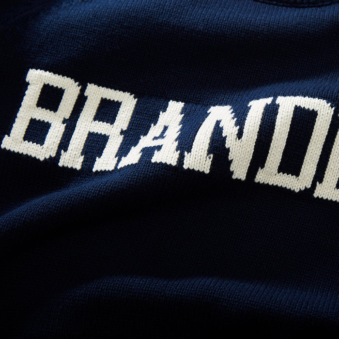Cotton Brandeis School Sweater