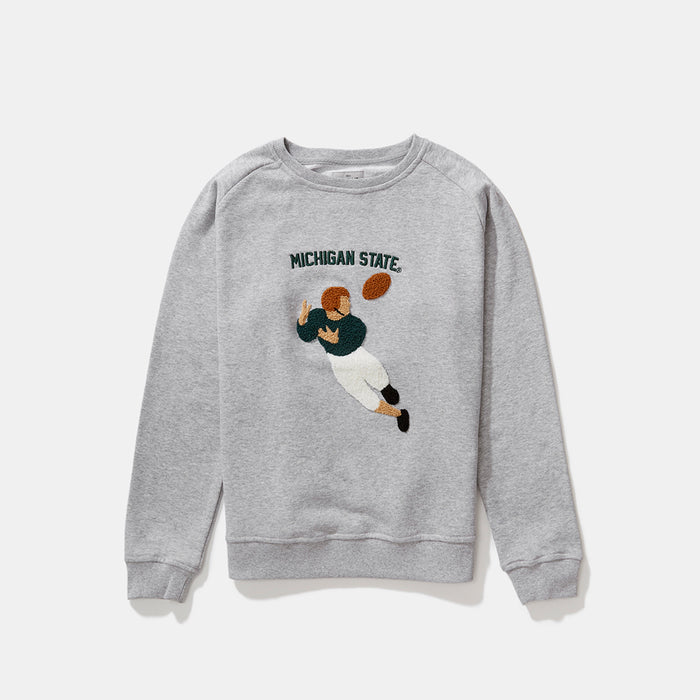 Women's Michigan State Illustrated Sweatshirt