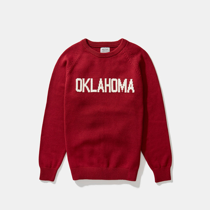 Cotton Oklahoma School Sweater