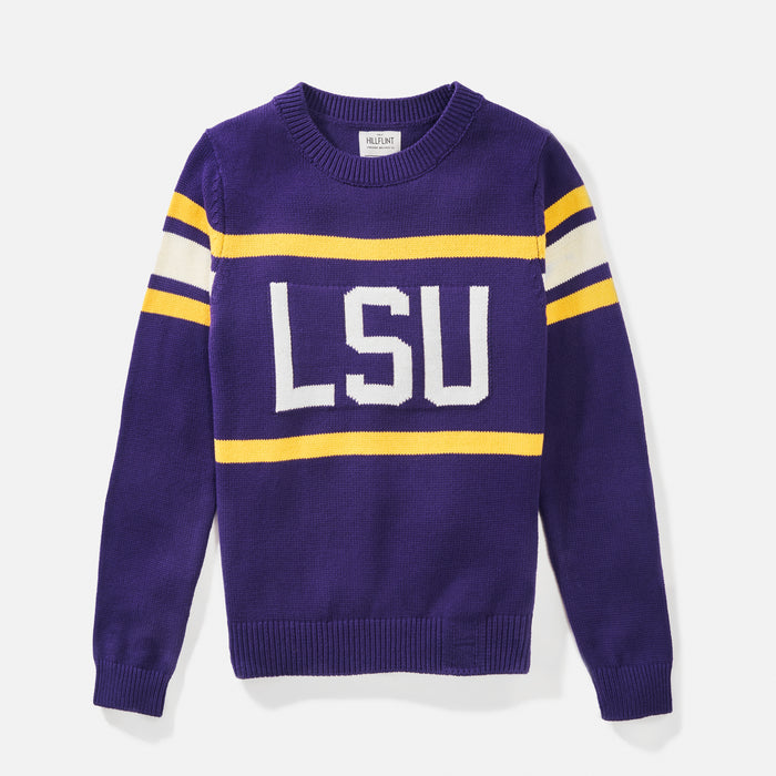 LSU Retro Stadium Sweater