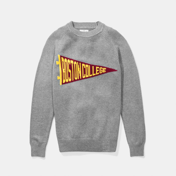 Boston College Pennant Sweater