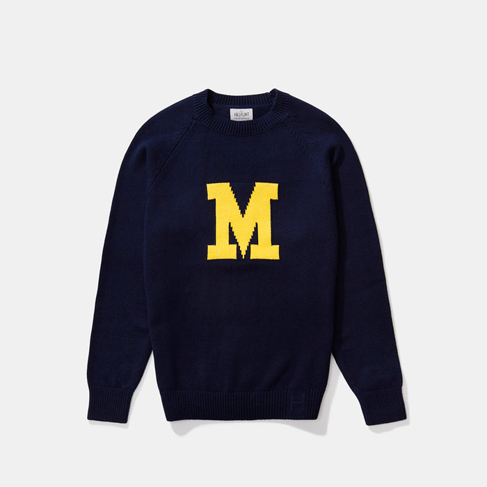 Marquette Letter Sweater