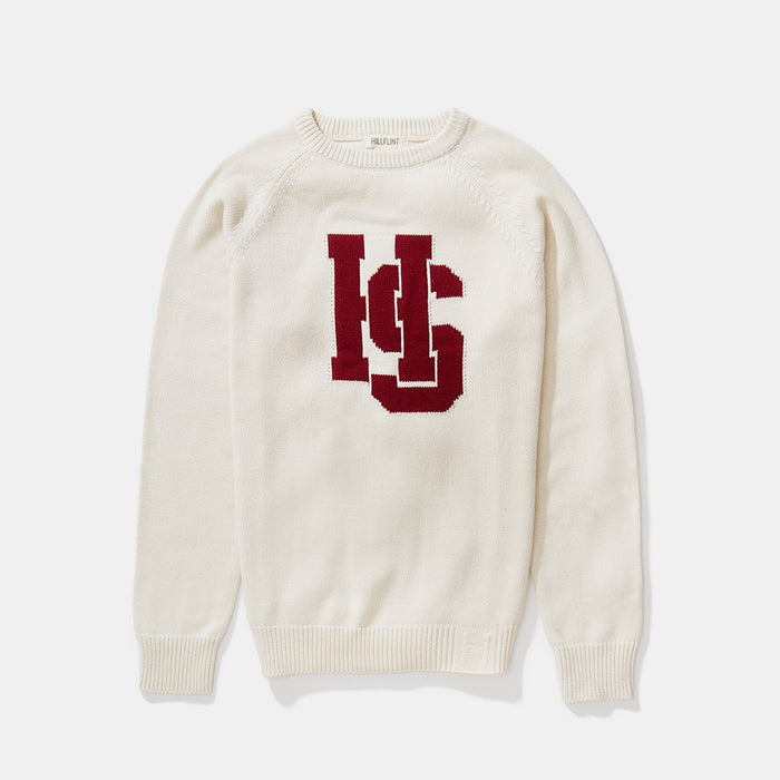 Hampden-Sydney Letter Sweater