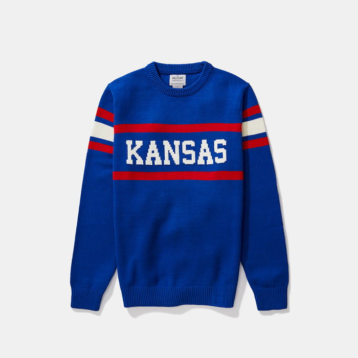 Kansas Retro Stadium Sweater