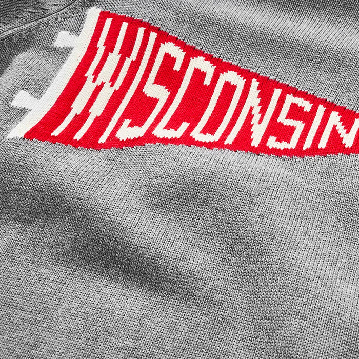 Wisconsin Pennant Sweater