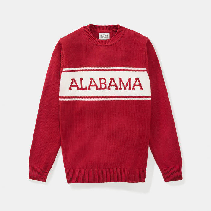 Alabama Varsity Stripe Sweater