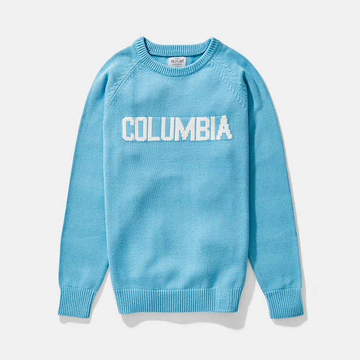 Cotton Blend Columbia School Sweater
