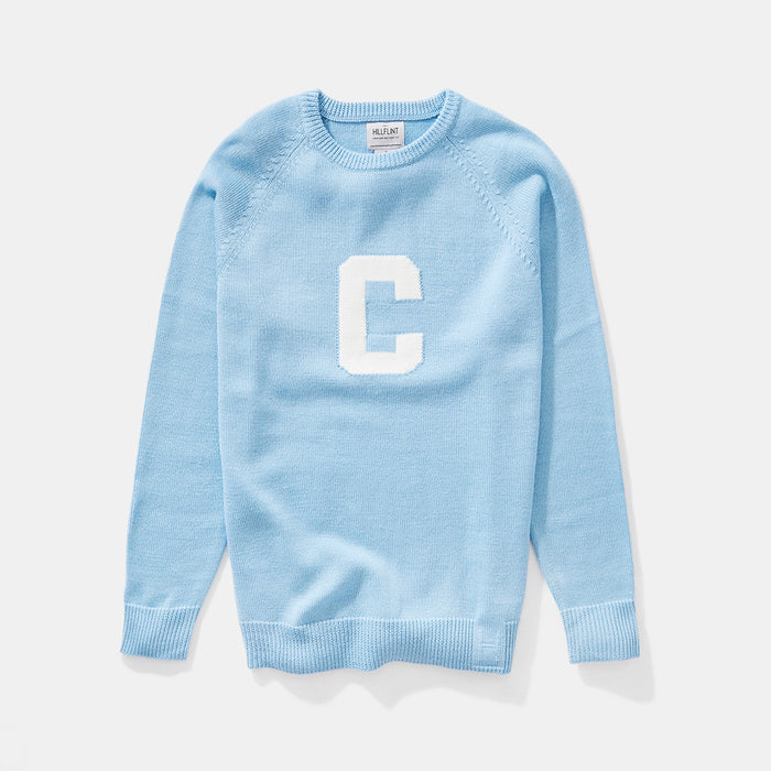 Merino Columbia Letter Sweater