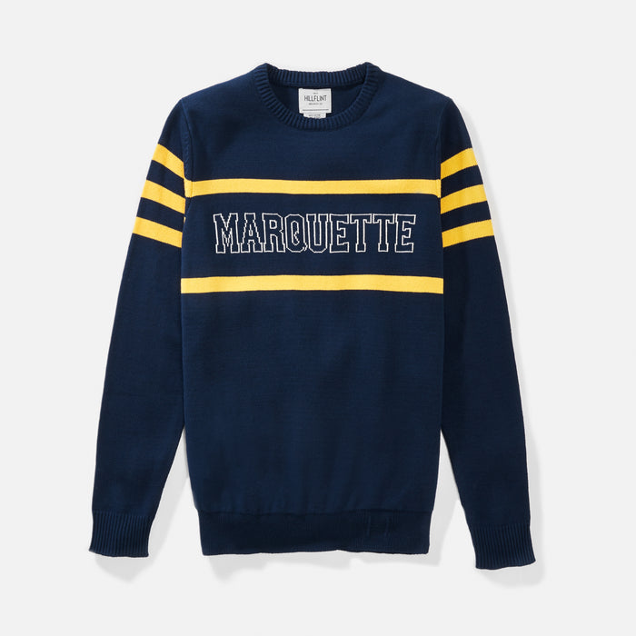 Marquette Retro Stadium Sweater