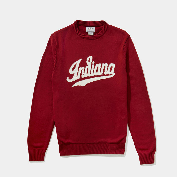 Indiana Varsity Script Sweater