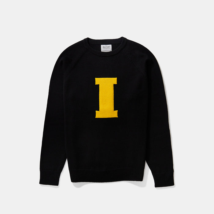 Iowa Letter Sweater