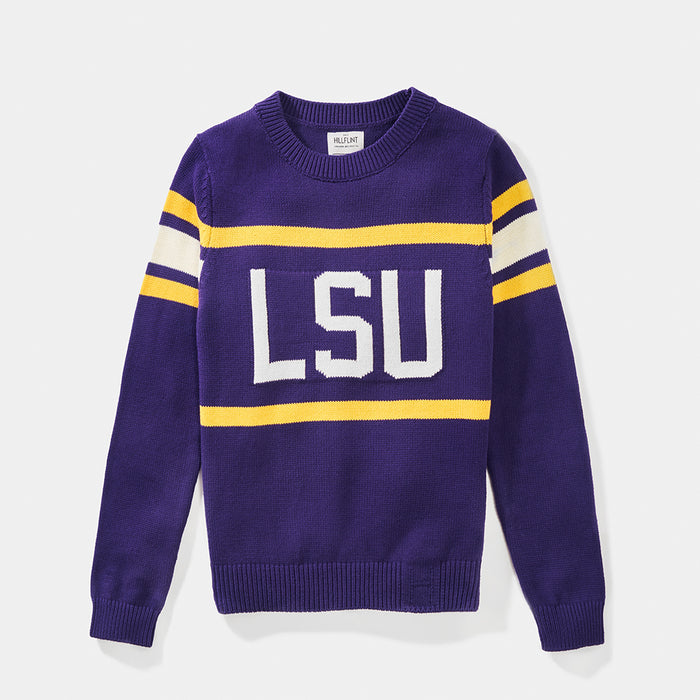 Women's LSU Retro Stadium Sweater