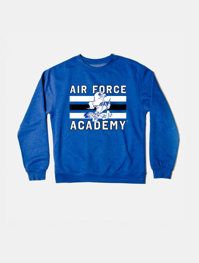 Air Force Vintage Triple Stripe Crewneck Sweatshirt