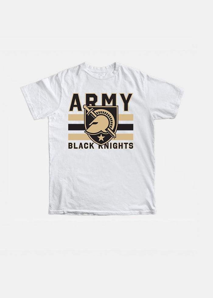 Army Vintage Triple Stripe Tee (White)