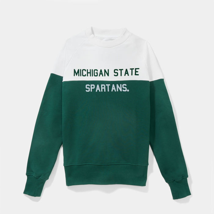Michigan State Colorfield Sweatshirt (Two Tone)