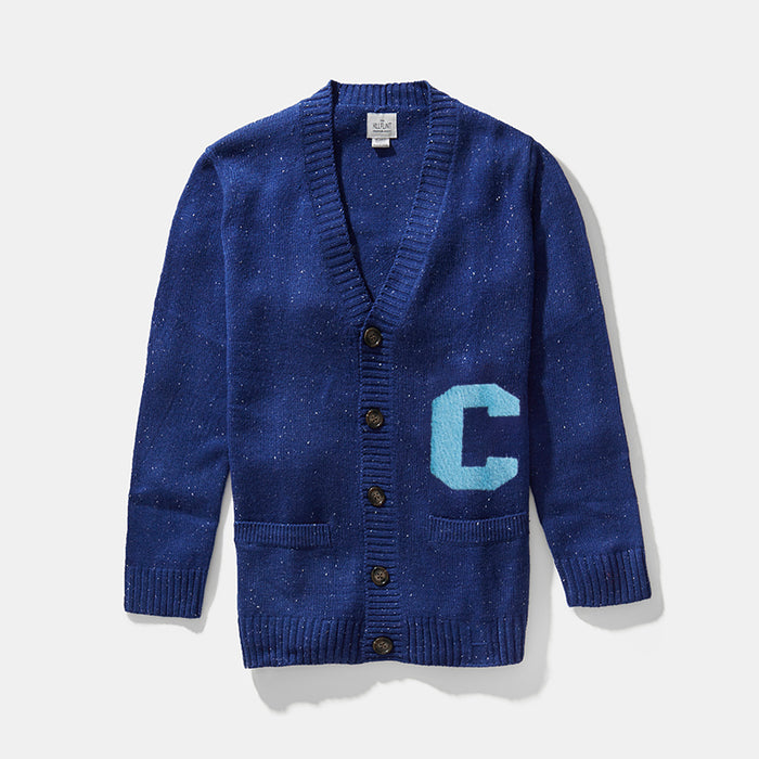 Wool Blend Columbia Cardigan