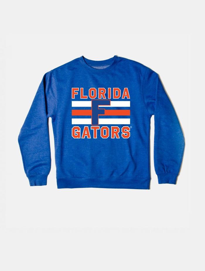 Florida Vintage Triple Stripe Crewneck Sweatshirt