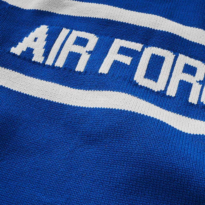 Air Force Retro Stadium Sweater