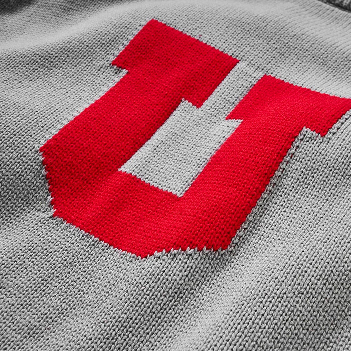 Utah Letter Sweater (Gray)
