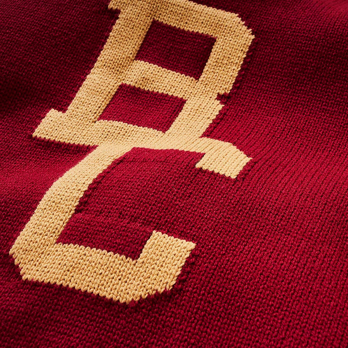 Boston College Letter Sweater