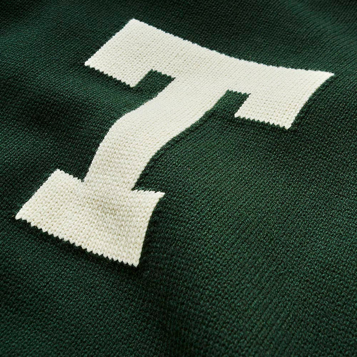 Tulane Letter Sweater