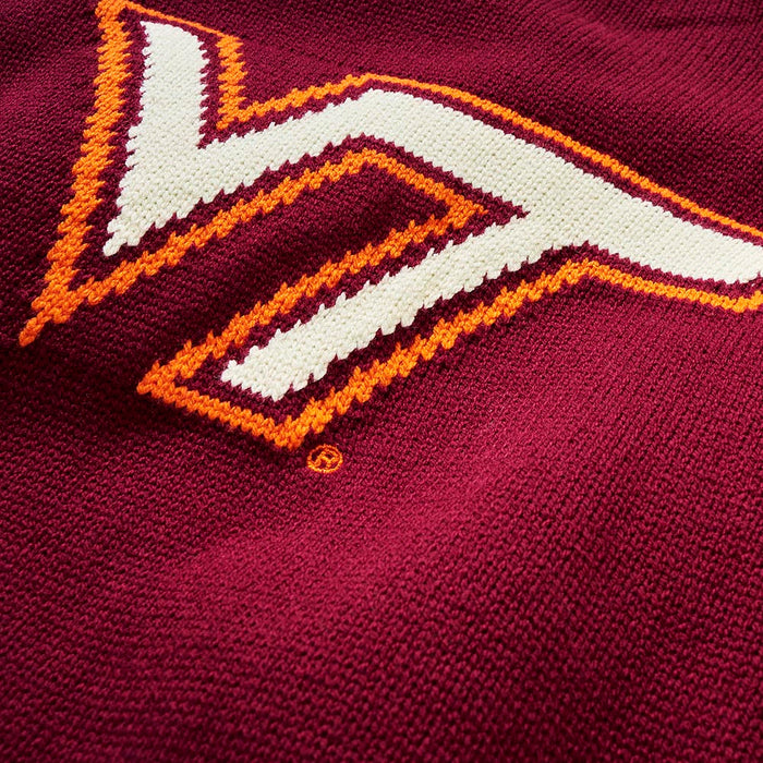 Virginia Tech Letter Sweater