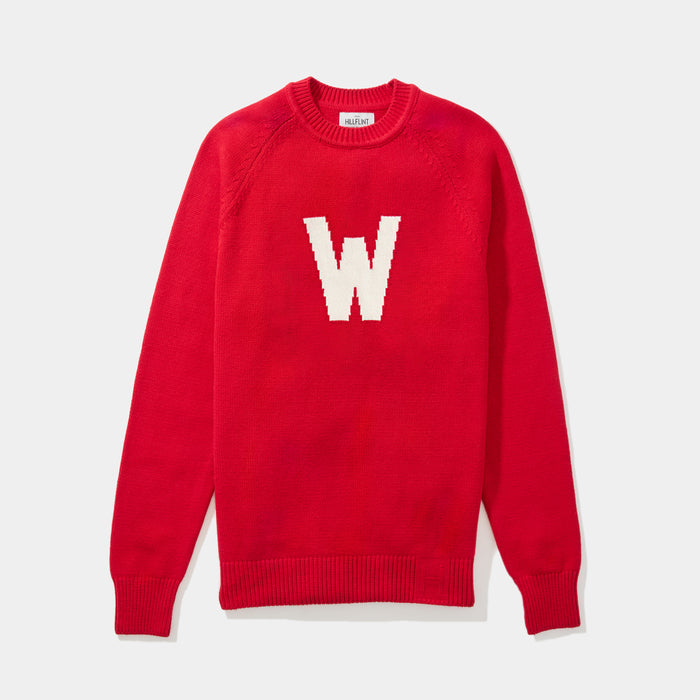 Wabash Letter Sweater