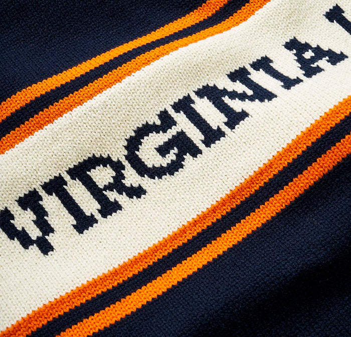 Virginia Law Varsity Stripe Sweater