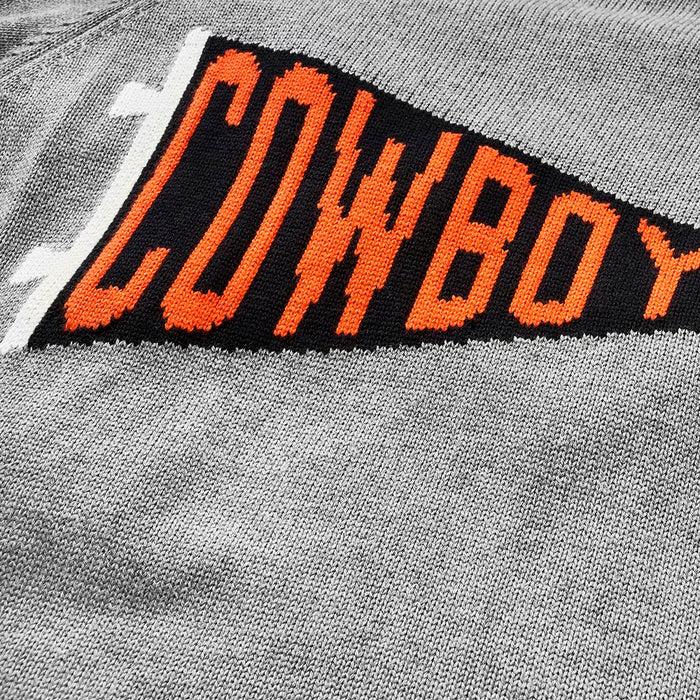 "Oklahoma State Pennant ""Cowboys"" Sweater"